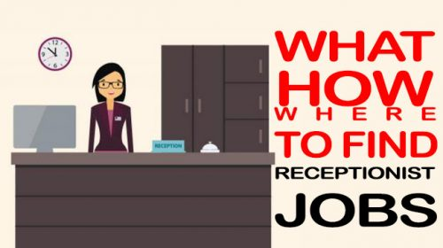 How To Find Part Time Full Time Receptionist Jobs Near Me